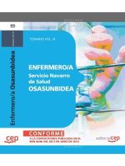 Enfermero/a del Servicio Navarro de Salud Osasunbidea - Ed. CEP