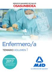 Enfermero/a del Servicio Navarro de Salud-Osasunbidea. Temario volumen 1 de Ed. MAD
