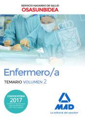 Enfermero/a del Servicio Navarro de Salud-Osasunbidea. Temario volumen 2 de Ed. MAD