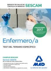 Enfermero/a del Servicio de Salud de Castilla-La Mancha (SESCAM). Test del temario específico