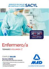 Enfermero/a del Servicio de Salud de Castilla y León (SACYL). Temario volumen 2 de Ed. MAD