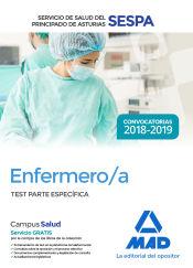 Enfermero/a del Servicio de Salud del Principado de Asturias (SESPA). Test Parte Específica de Ed. MAD