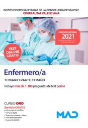 Enfermero/a de Instituciones Sanitarias de la Conselleria de Sanitat de la Generalitat Valenciana - Ed. MAD