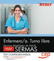 Enfermero/a. Turno libre. Servicio Madrileño de Salud (SERMAS). Test complementarios de EDITORIAL CEP