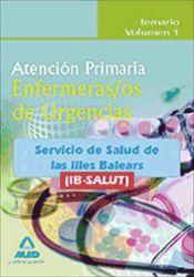 Enfermero de Urgencias de Atención Primaria del IB-SALUT - Ed. MAD