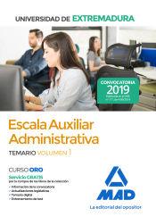Auxiliar Administrativo de la Universidad de Extremadura - Ed. MAD
