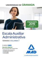 Escala Auxiliar Administrativa de la Universidad de Granada - Ed. MAD