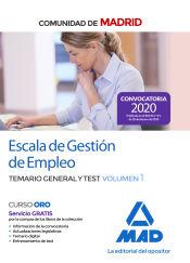 Gestión de Empleo de la Comunidad de Madrid - Ed. MAD