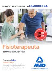 Fisioterapeuta del Servicio Vasco de Salud (Osakidetza) - Ed. MAD