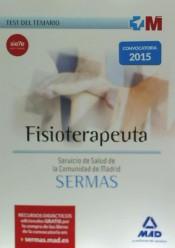 Fisioterapeuta del Servicio de Salud de la Comunidad de Madrid. Test
