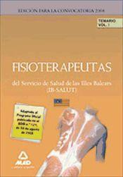Fisioterapeuta del IB-SALUT. - Ed. MAD