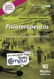 Fisioterapeutas del Servicio Andaluz de Saldu (SAS). Temario Específico Volumen 2 de Rodio Ediciones