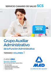 Auxiliar Administrativo del Servicio Canario de Salud - Ed. MAD