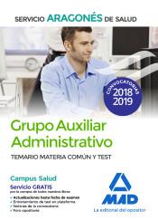 Auxiliar Administrativo del Servicio Aragonés de Salud - Ed. MAD