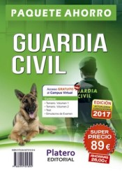 Guardia Civil Escala de Cabos y Guardias. Pack Ahorro