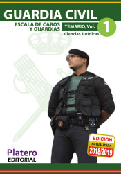 Guardia Civil. Escala de cabos y guardias - Platero Editorial