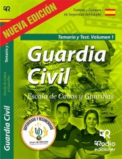 Guardia Civil Escala de Cabos y Guardias - Ediciones Rodio