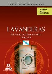 Lavandera del Servicio Gallego de Salud (SERGAS) - Ed. MAD