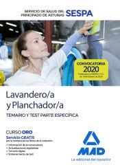 Lavandero/a y Planchador/a del Servicio de Salud del Principado de Asturias (SESPA). Temario y test parte específica de Ed. MAD