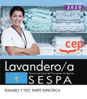 Lavandero/a. Servicio de Salud del Principado de Asturias. SESPA. Temario y test. Parte específica de EDITORIAL CEP