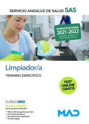 Limpiador/a del Servicio Andaluz de Salud. Temario específico de Ed. MAD
