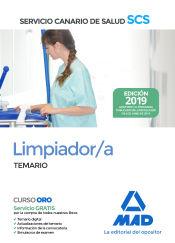 Limpiador/a del Servicio Canario de Salud - Ed. MAD