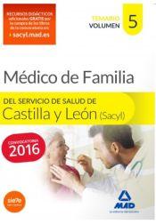 Médico Especialista en Medicina Familiar y comunitaria del Servicio de Salud de Castilla y León (SACYL). Temario, volumen V de Ed. MAD