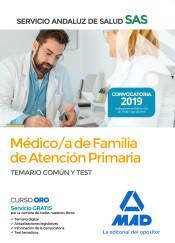 Médico de Familia de Atención Primaria del Servicio Andaluz de Salud (SAS) - Ed. MAD
