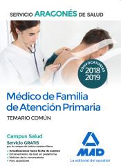 Médico de Familia de Atención Primaria del Servicio Aragonés de Salud - Ed. MAD