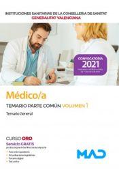 Médico/a de la Conselleria de Sanitat de la Generalitat Valenciana - Ed. MAD