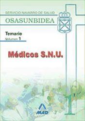 Médico S.N.U. del Servicio Navarro de Salud-Osasunbidea - Ed. MAD