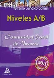 Niveles A/B Comunidad Foral de Navarra. (Parte Jurídica Común) - Ed. MAD