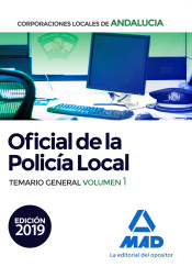 Oficial de la Policía Local de Andalucía - Ed. MAD