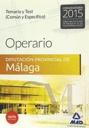 Operario de la Diputación Provincial de Málaga