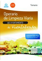 Operario de limpieza viaria del Ayuntamiento de Fuenlabrada - Ed. MAD