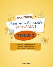 Oposiciones a maestro de Educación Primaria I. Temario de Ediciones Pirámide