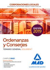 Ordenanza y Conserje de Corporaciones Locales - Ed. MAD
