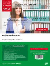 PACK AHORRO BÁSICO. Auxiliar Administrativo. Servicio Canario de Salud. SCS de Ed. CEP