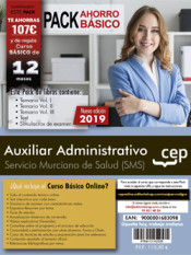 PACK AHORRO BÁSICO. Auxiliar Administrativo. Servicio Murciano de Salud de Ed. CEP