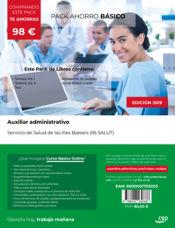 PACK AHORRO BÁSICO. Auxiliar administrativo. Servicio de Salud de las Illes Balears (IB-SALUT) de Ed. CEP