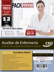 PACK AHORRO BÁSICO. Auxiliar de Enfermería. Junta de Comunidades de Castilla-La Mancha de Ed. CEP