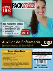 PACK AHORRO BÁSICO. Auxiliar de Enfermería.Servicio Andaluz de Salud (SAS) de Ed. CEP