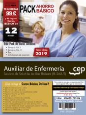 PACK AHORRO BÁSICO. Auxiliar de Enfermería. Servicio de Salut de las Illes Balears. IB-SALUT de Ed. CEP