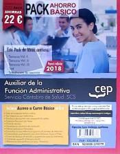 PACK AHORRO BASICO. Auxiliar de la Función Administrativa. Servicio Cántabro de Salud. SCS. de Ed. CEP