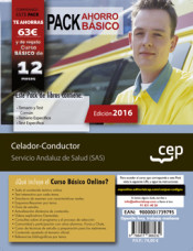 PACK AHORRO BÁSICO. Celador-Conductor. Servicio Andaluz de Salud (SAS) de Ed. CEP