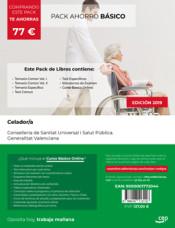 PACK AHORRO BÁSICO. Celador. Conselleria de Sanitat Universal i Salut Pública. Generalitat Valenciana de Ed. CEP