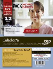 PACK AHORRO BÁSICO. Celador/a. Servicio de Salud de Castilla-La Mancha (SESCAM) de Ed. CEP