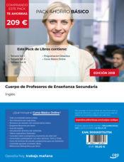 PACK AHORRO BÁSICO. Cuerpo de Profesores de Enseñanza Secundaria. Inglés de Ed. CEP