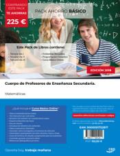 PACK AHORRO BÁSICO. Cuerpo de Profesores de Enseñanza Secundaria. Matemáticas de Ed. CEP