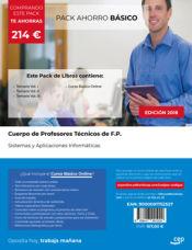 PACK AHORRO BÁSICO. Cuerpo de Profesores Técnicos de F.P. Sistemas y Aplicaciones Informáticas de Ed. CEP